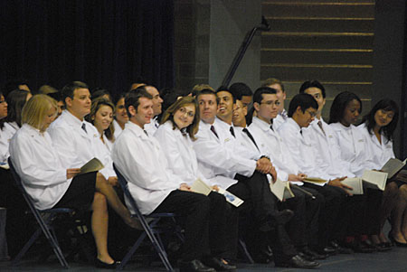 Incoming medical students of Class of 2014 © UC Regents