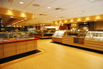 New cafeteria © UC Regents