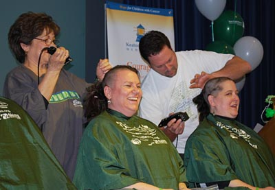Two shavees from last year's event © UC Regents