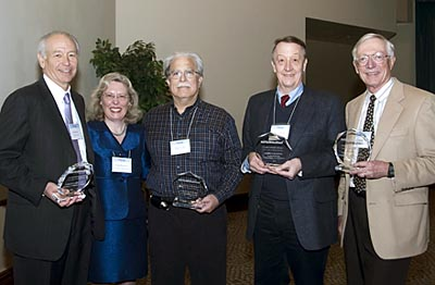 Awardees and Claire Pomeroy © SARTA
