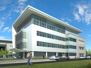 New telehealth center artist;s rendering © UC Regents