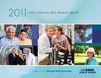 2011 Vice Chancellor's Annual Report cover © UC Regents
