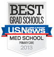 US News Best Grad School Primary Care 2013 badge © US News