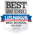 U. S. News Best Grad School for Rural Medicine 2012 badge © US News