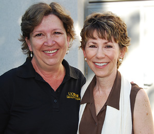Sherry Siems, left, and Ria De Grassi