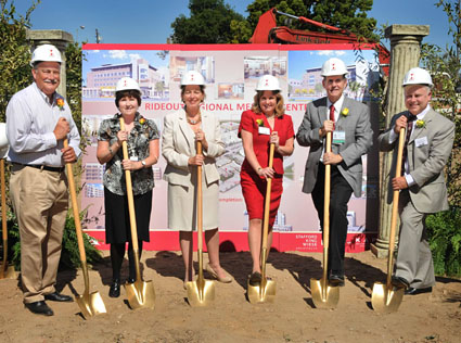 groundbreaking © Fremont_Rideout Health Group