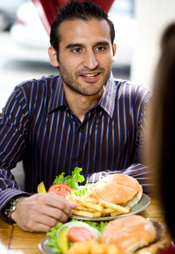 Meal at fast-food restaurant © iStockphoto