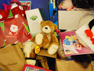 Holiday gifts for children © UC Regents