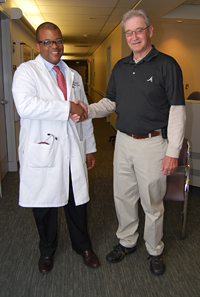 Dr. Cooke and Jim Jackson