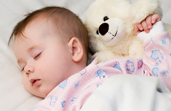 Sleeping infant © iStockphoto
