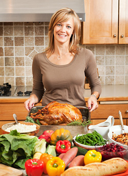 Thanksgiving dinner © iStockphoto