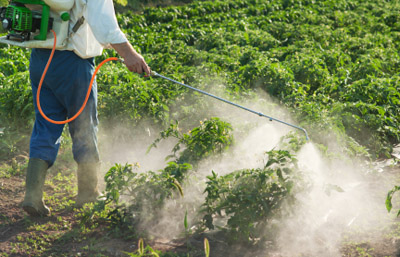 Pesticides used in farming