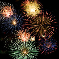 Photograph of fireworks display © iStockphoto