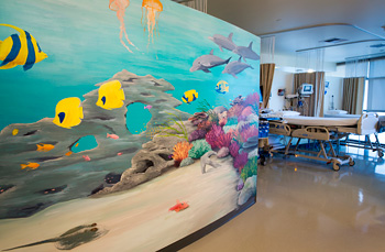 Pediatric Infusion mural