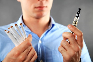 cigarettes or cigarette alternative © iStockphoto