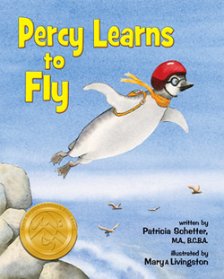 Cover of book Percy Learns to Fly © Livingstong
