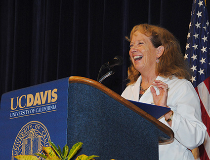 Chancellor and Dean Julie Freischlag welcomes the Class of 2018.