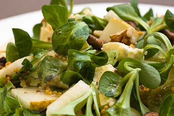 Heart healthy spinach salad recipe