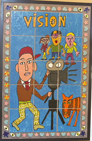 MIND Institute mural entitled Vision