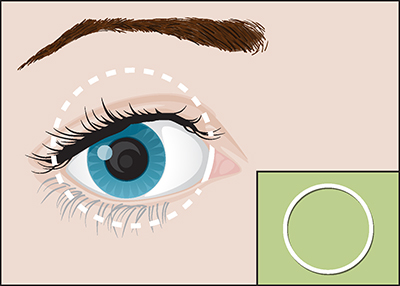 Graphic of eye