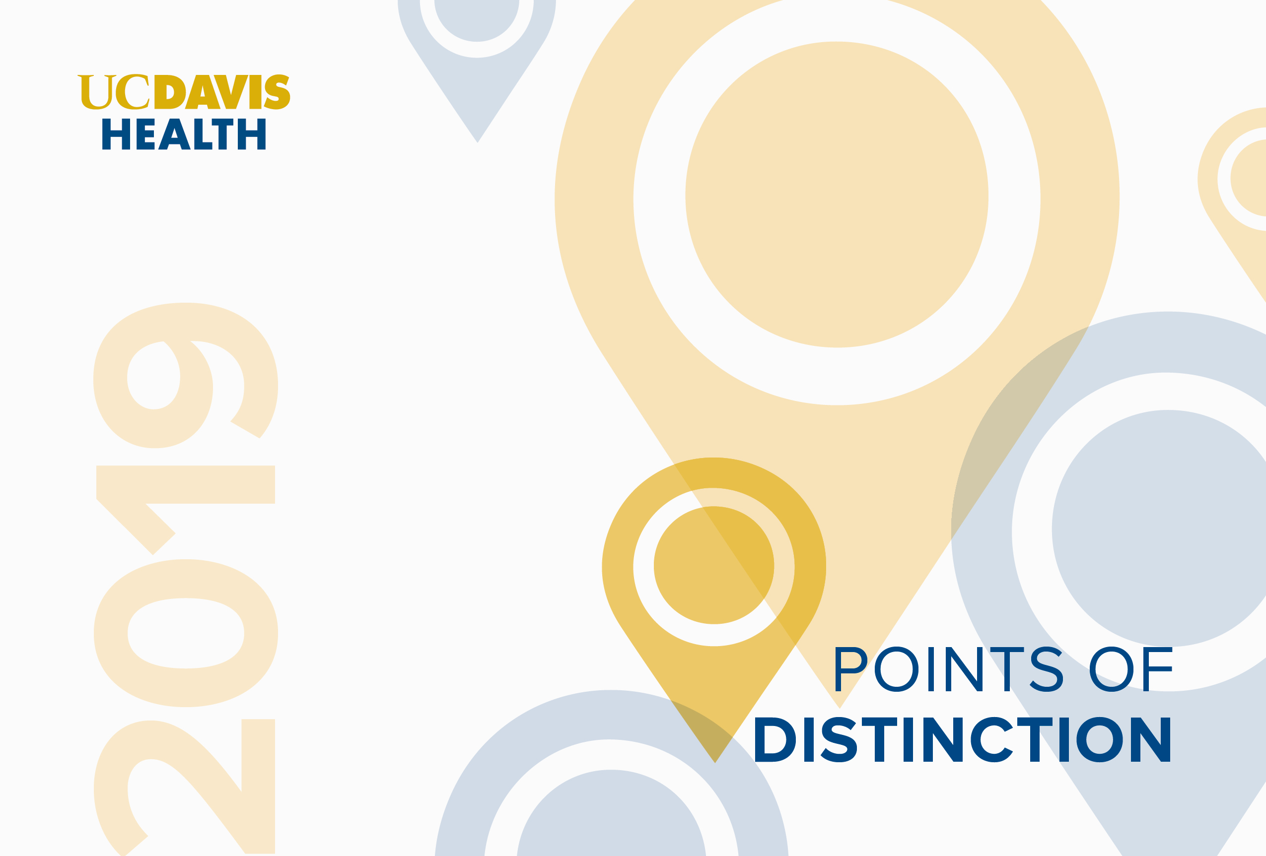 2019 UC Davis Health Points of Distinction Cover