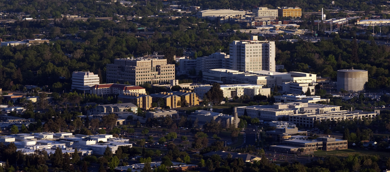 UC Davis Medical Center- Aerial