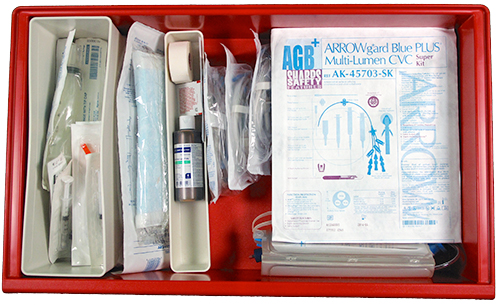 Drawer 6: IV Supplies and Tubing