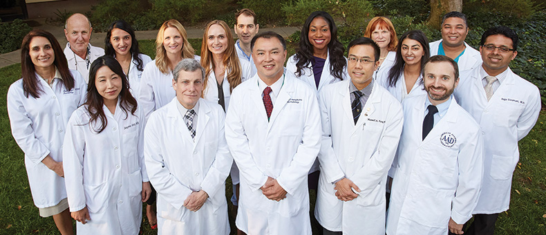 Dermatology faculty members