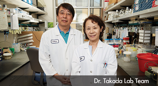 Dr Taakada Research Lab Team