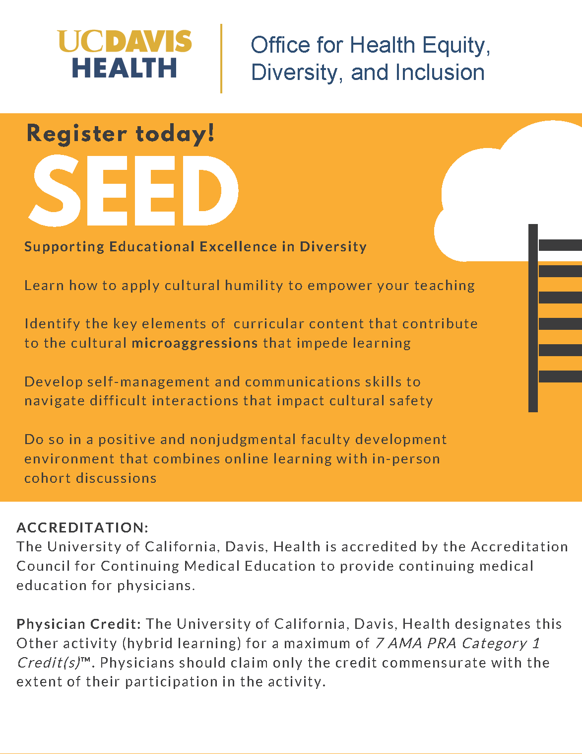 SEED series flyer