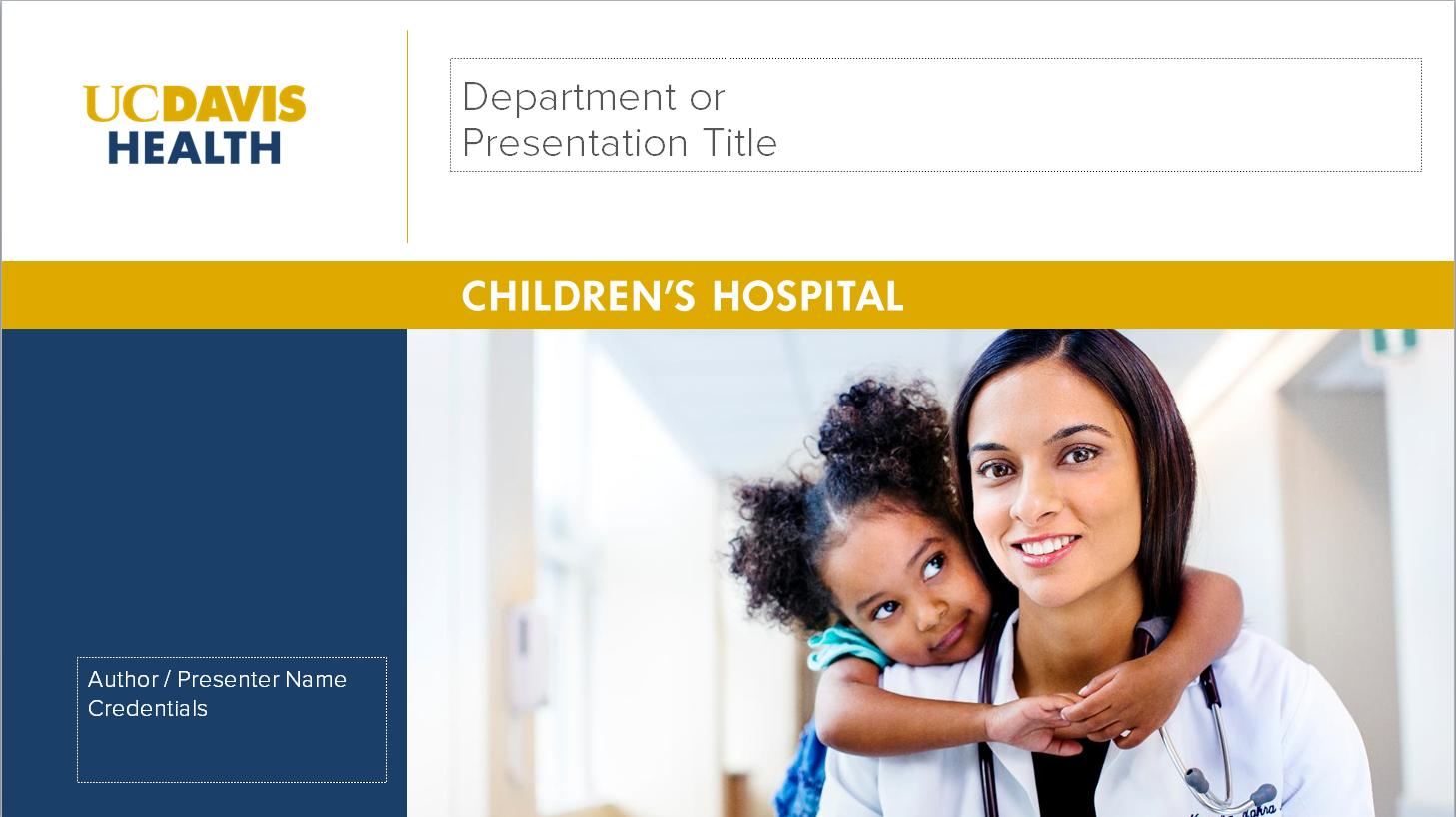 Uc Davis Health Graphic Standards Templates