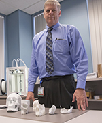 Brad Strong and and specialized 3-d printings to enhance surgical planning and outcomes