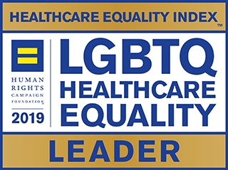 LGBTQ Healthcare Equality Leader logo