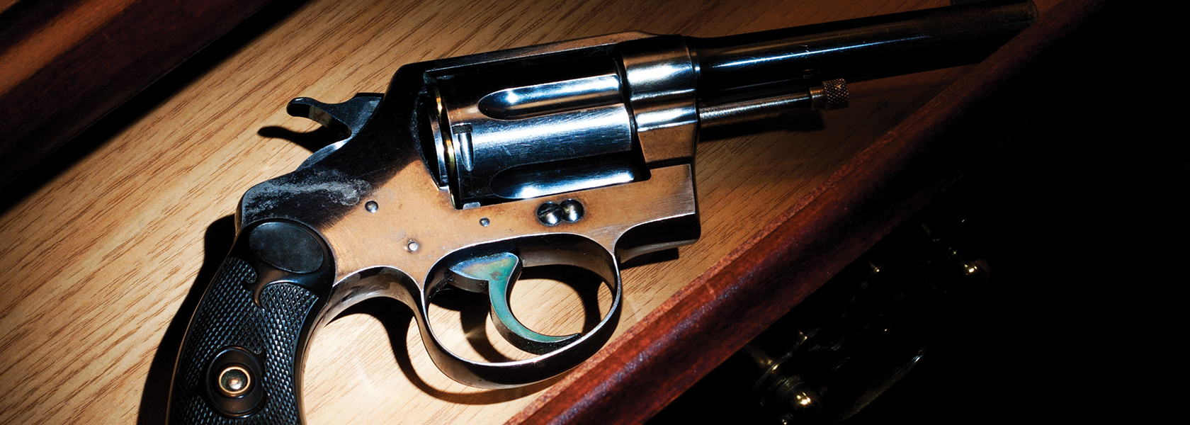 stock image of a revolver
