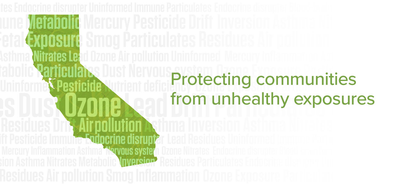 Protecting communities from unhealthy exposures