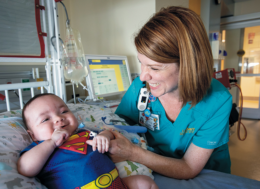 NICU nurse Christa Bedford-Mu