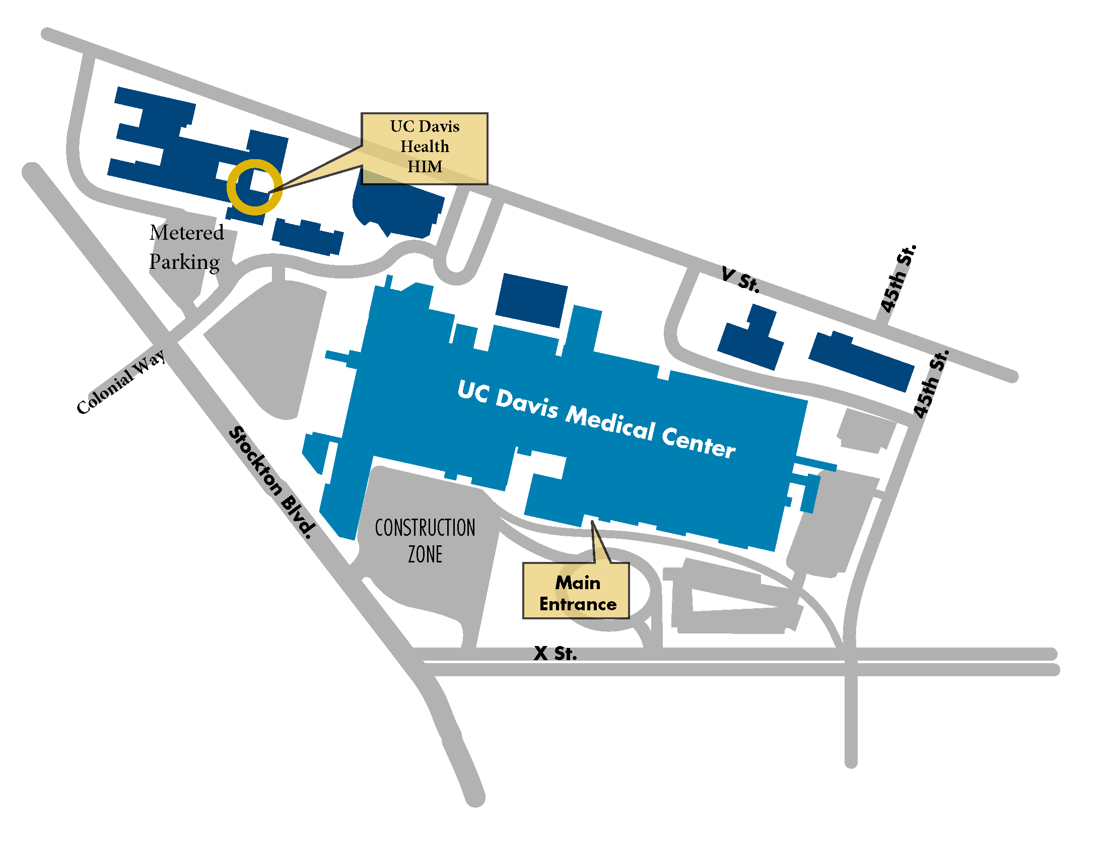 UC Davis Health - Health Information Management Location