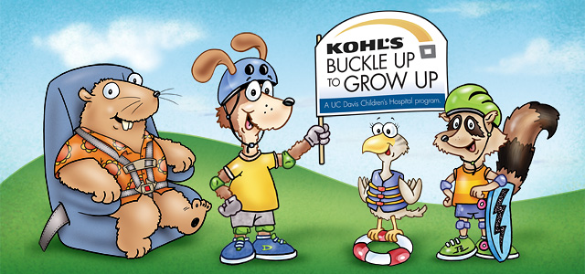 Kohl's Buckle Up to Grow Up Safety Squad