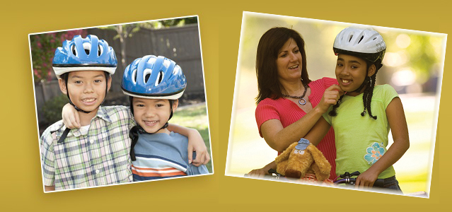 Helmet safety education in Sacramento schools