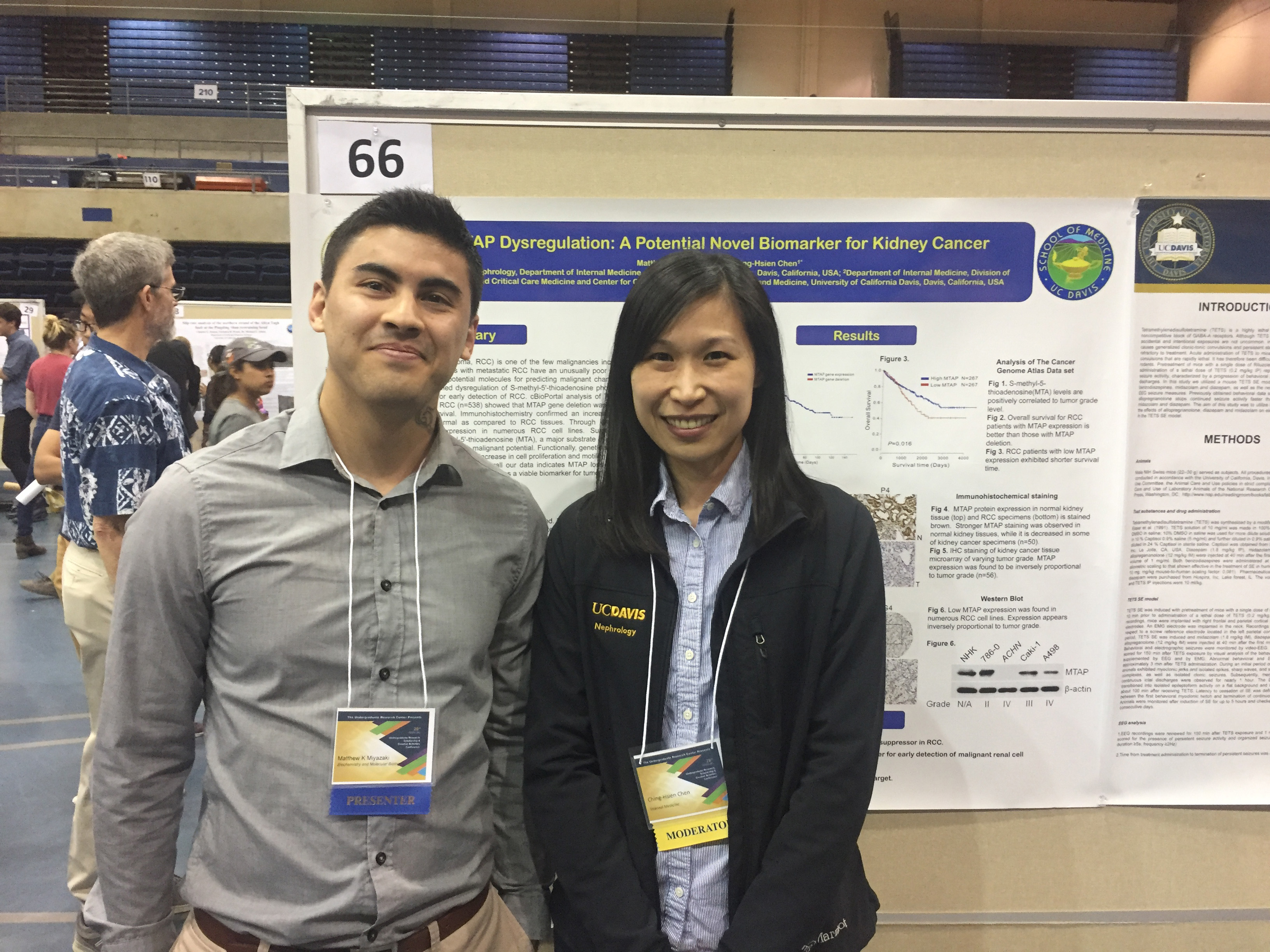Dr. Ching-Hsien Chen and a mentee