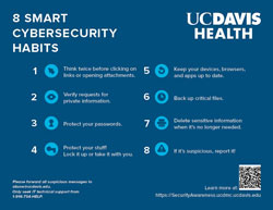 Thumb nail image poster - 8 Smart Cybersecurity Habits