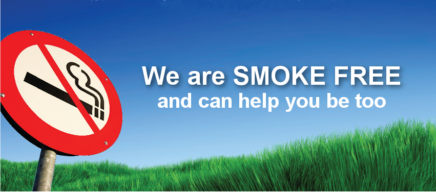 Smoking cessation banner
