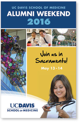 UC Davis School of Medicine Alumni Weekend 2016 Brochure Cover