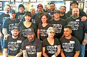 Tattoo artists will volunteer their time at this year's Wild Bill's Tattoo-a-thon.