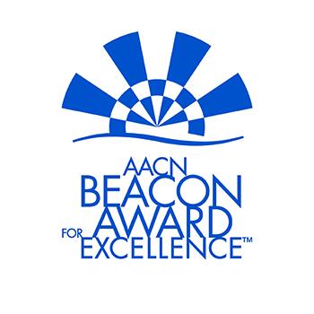 Beacon award badge