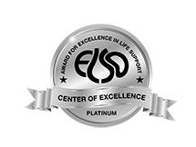 ELSO platinum badge