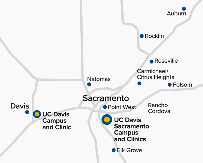 UC Davis Medical Group Locations