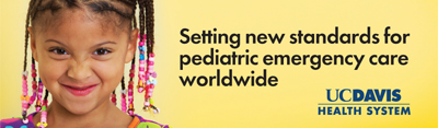 Pediatric emergency care billboard