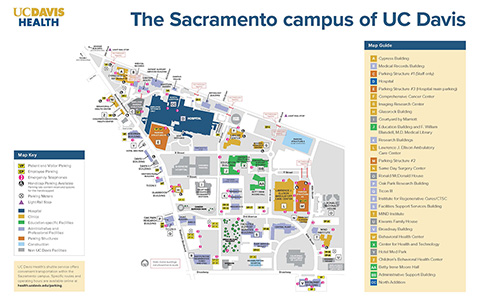 Contact Us Uc Davis School Of Medicine Office Of Research - Sacramento-on-us-map