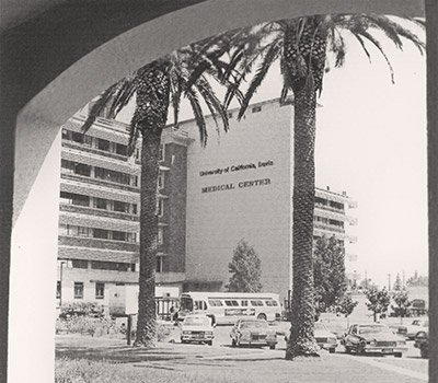 The medical center, early 1980s